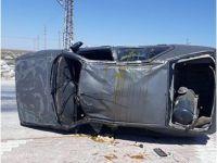 Eskil'de trafik kazası 2 yaralı!