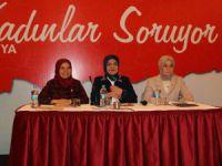 Kadınlar, milletvekilleriyle bir araya geldi