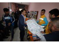 Yatalak hastalar ambulanslar yardımıyla oylarını kullandı