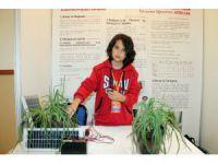 Ortaokul öğrencisi, bitkilerin doğal yollarla gelişmesi için sistem geliştirdi