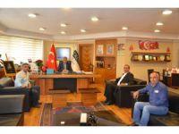 Başkan Özgüven Adana Ereğlililer Derneği'ni makamında ağırladı