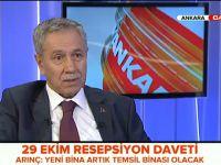 """Arınç, """"Öcalan'ın talebi haksız değil"""""""