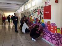 NEÜ, AKEF Resim-iş Eğitimi Anabilim Dalı öğrencilerinden resim etkinliği