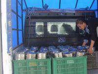 Cihanbeyli'de evlere sıcak yemek dağıtımı