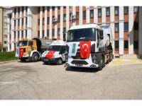 Ereğli Belediyesine yeni hizmet araçları