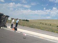 Konya-Aksaray yolunda kaza: 3'ü ağır 5 yaralı