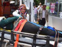 Aksaray'da iki kamyonet çarpıştı: 7 yaralı