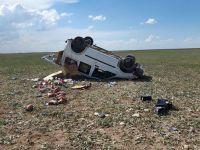Eskil'de trafik kazası: 1 Ölü, 1 Yaralı