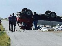 Eskil'deki trafik kazasında 1 kişi öldü 1 ağır yaralı