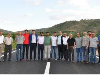 Aksaray-Balcılar yolu ulaşıma açıldı