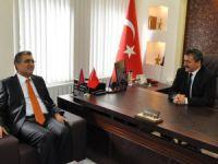 Recep Konuk'tan Mehmet Tutal'a ziyaret