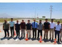Aksaray'da 6 kilometrelik OSB yolu trafiğe açıldı