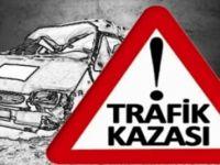 Eskil'de Motosiklet kazası: 2 yaralı