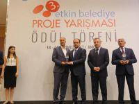 Mahalli İdareler Genel Müdürlüğü'nden Tayfur Başkan'a birincilik ödülü