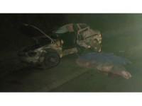 Otomobil traktör römorkuna çarptı: 2 ölü