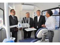 Konya'da Gezici Ağız ve Diş Sağlığı Kliniği hizmete başladı