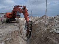 Eskil'de yaylalar arası içme suyu ishale hattı yenileniyor