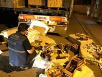 Aksaray'da kaçak sigara operasyonu: 1 tutuklama