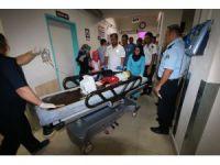 Balkondan düşen 1,5 yaşındaki Suriyeli bebek ağır yaralandı