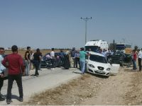 Eskil'de düğün konvoyunda kaza 8 yaralı