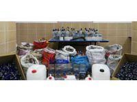 Konya'da sahte içki imalathanelerine jandarma baskını