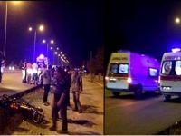 Eşmekaya'da 2 motosiklet çarpıştı 2 yaralı