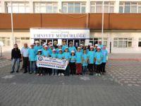 Aksaray emniyeti çocukları Çanakkale'ye götürdü