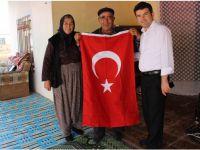 Kaymakam Kartal'dan Halis Altan'a ziyaret