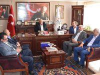 Muhtarlardan Eskil Belediye Başkanlığı'na ziyaret