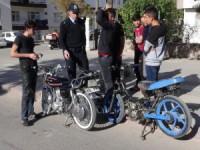 Aksaray'da motosiklet uygulaması