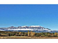 Anamas Dağı'nın Zirvesine Mevsimin İlk Karı Yağdı