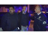 Polis Aracına Çarpan Alkollü Sürücü Tutuklandı