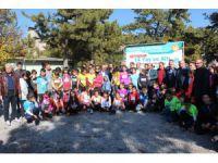 Beyşehir'de Oryantiring Yarışları Heyecanı