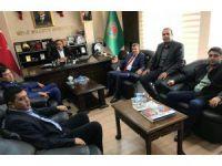 Başkan Altınsoy Ziraat Odasının Çalışmalarıyla İlgili Bilgi Aldı