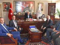 İl Milli Eğitim Müdürü Kartal'dan Başkan Alçay'a ziyaret