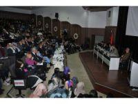 """Selçuk'ta """"Tarihin Tanıklığında Ermeni Meselesi"""" paneli yapıldı"""
