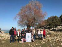 Beyşehir'de Üniversite Öğrencileri Adada Kamp Yaptı