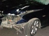 Eskilli vatandaş Kızören'de kaza yaptı! 3 yaralı