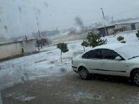 Eskil'e mevsimin ilk karı yağdı
