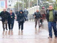 Aksaray'a Mevsimin İlk Karı Düştü