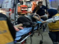 Eğlence mekanına yapılan saldırıda boynundan yaralandı