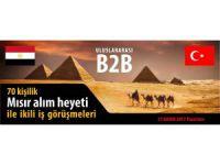 KTO Konya-Mısır İş Formuna Ev Sahipliği Yapacak