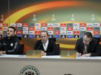 "Özdilek: ""1-1'lik Marsilya maçına üzgünüz"""
