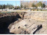 Araştırma Kazısında Tarihi Sur Kalıntıları Ortaya Çıktı