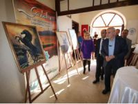 Beyşehir Kültür ve Sanat Merkezinde resim sergisi açılışı