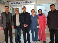 Altınsoy, Hasta ve Hasta Yakınlarını Ziyaret Ediyor