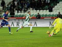 Atiker Konyaspor:2-Kardemir Karabükspor:0 (Maçtan dakikalar)