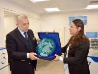 AK Parti'li Külünk'ten Halkbank'a ziyaret