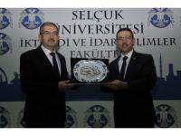 Sayıştay Başkanı Baş, Selçuk Üniversitesinde