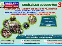 Konya'daki Eskilliler buluşuyor